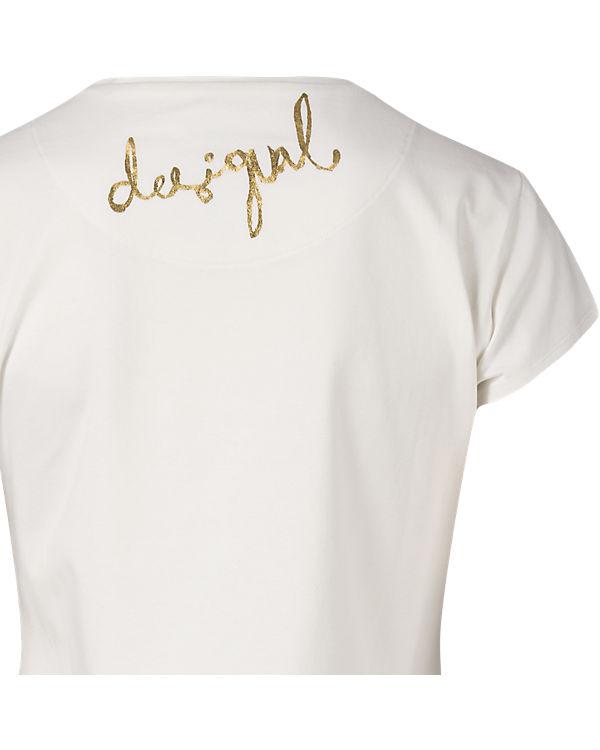 Desigual T-Shirt offwhite