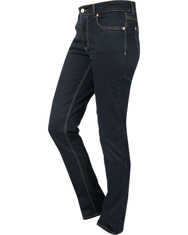 MAC Jeans Perfect Fit Forever Straight dunkelblau