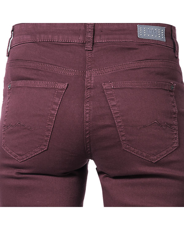 MAC Jeans Angela Straight lila