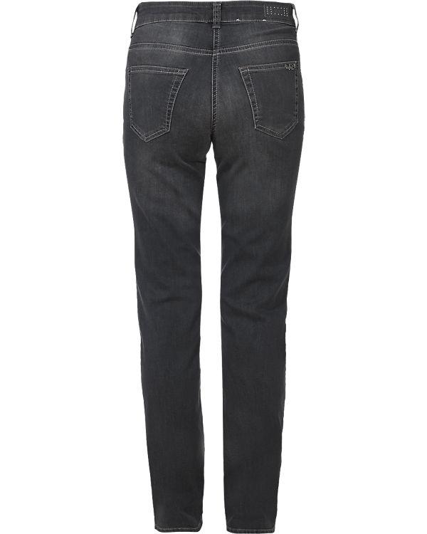MAC Jeans  Melanie Glam Dust Straight grau