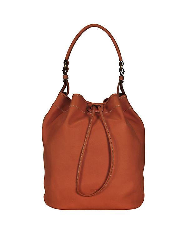 Bree Bree Stockholm 27 Handtasche Leder 26 cm orange