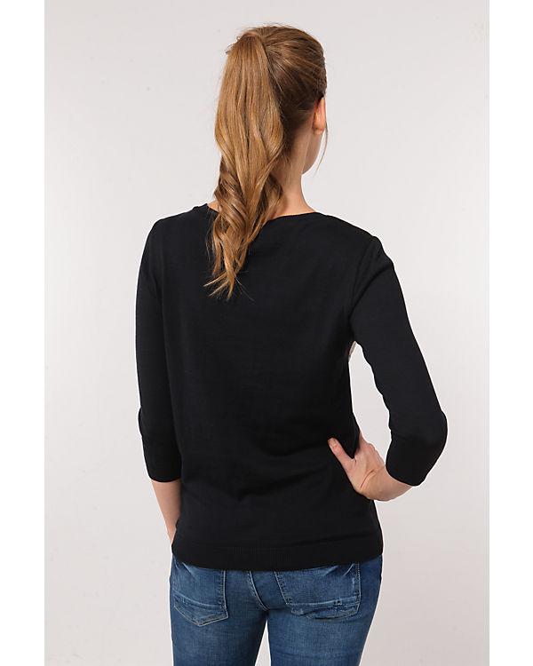 Saint Tropez Sweatshirt schwarz