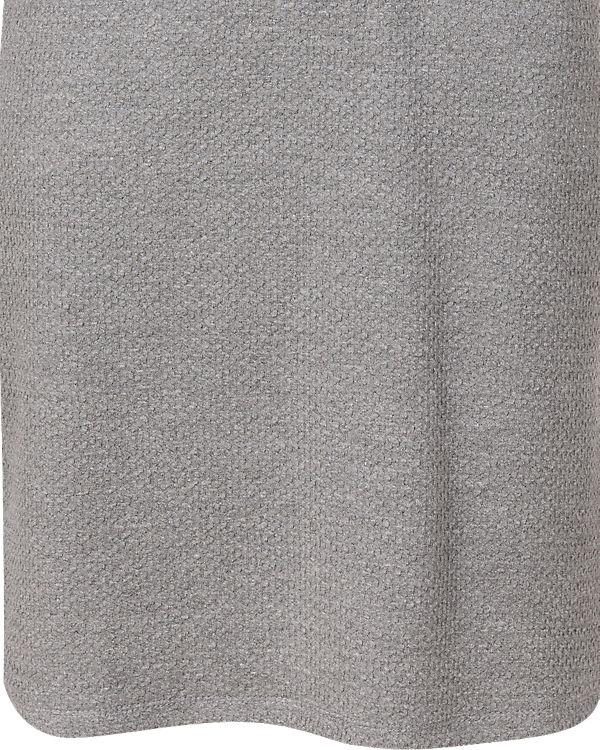 fransa Strickkleid grau