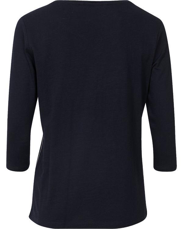 TOM TAILOR Denim 3/4-Arm-Shirt dunkelblau