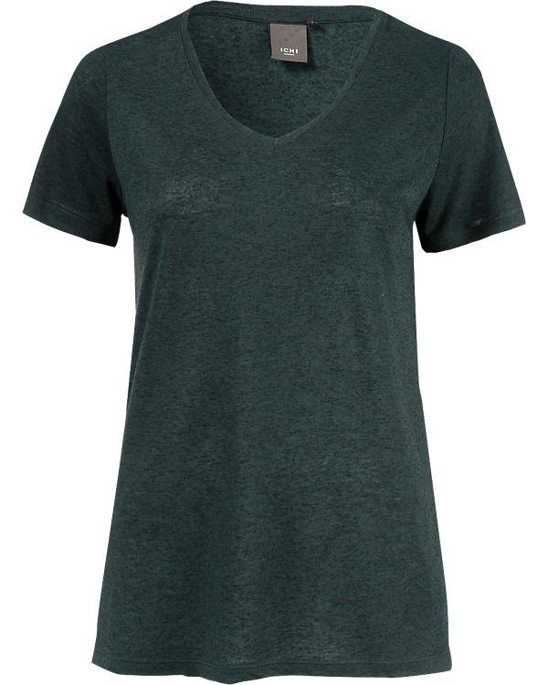 ICHI T-Shirt grün