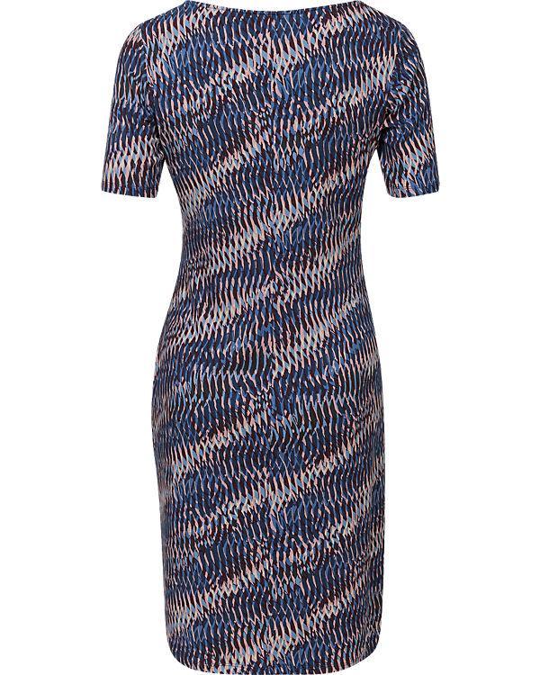 Kleid debatte schwarz blau