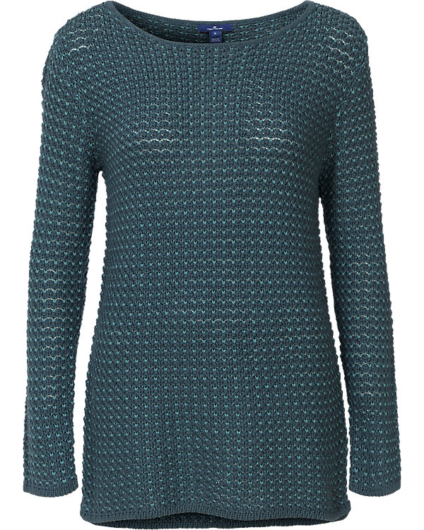 TOM TAILOR Pullover petrol