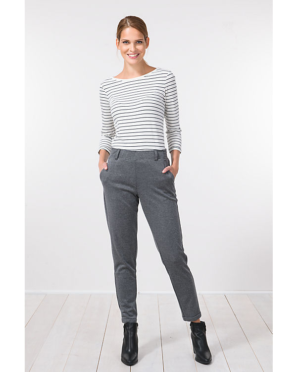 TOM TAILOR Hose Tab Slim grau