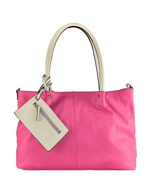 Maestro Maestro Surprise Bag in Bag Shopper Tasche 45 cm pink