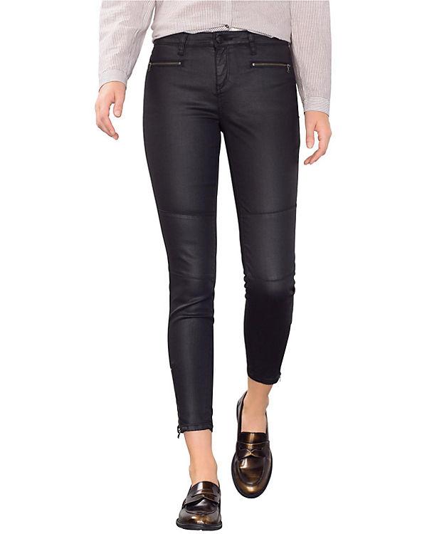 ESPRIT Jeans Skinny Medium Rise schwarz