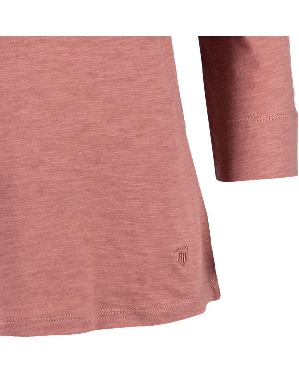 BASEFIELD 3/4-Arm-Shirt rot