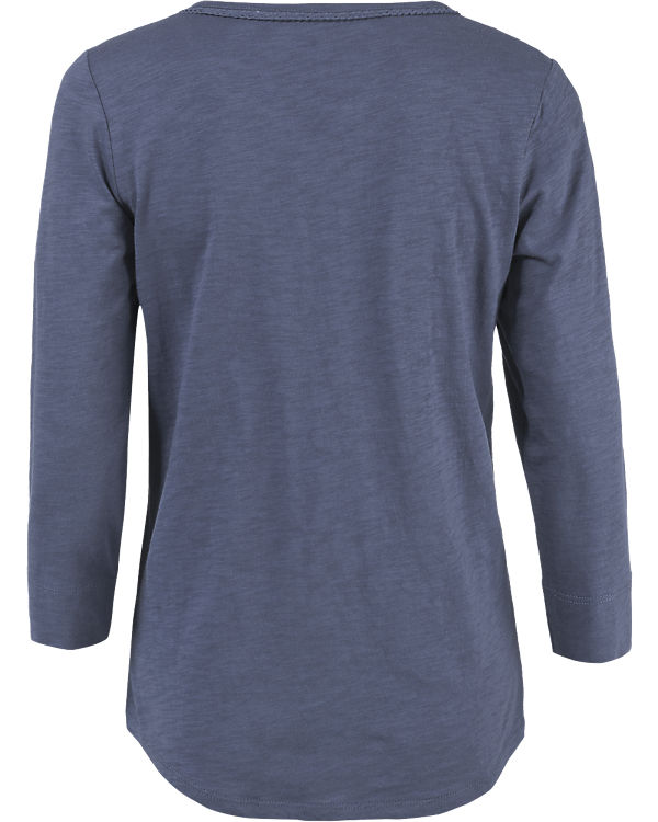 BASEFIELD 3/4-Arm-Shirt dunkelblau