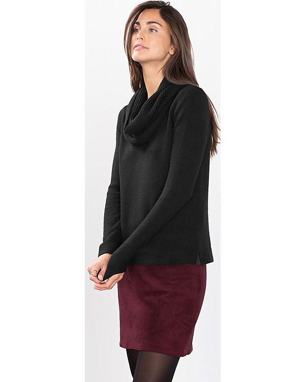 ESPRIT 2in1 Pullover schwarz
