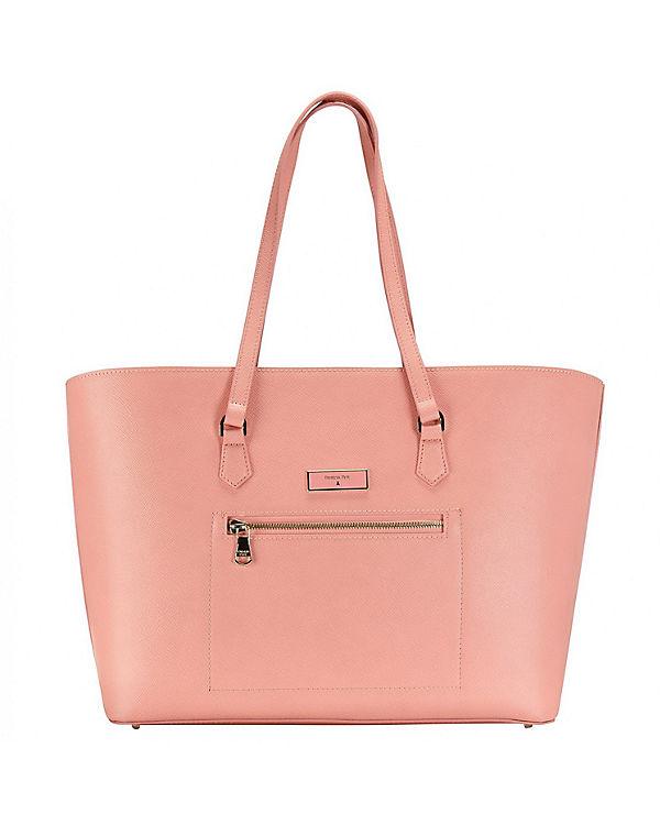 Patrizia Pepe Patrizia Pepe Candy Cadillac Shopper Tasche Leder 36 cm pink