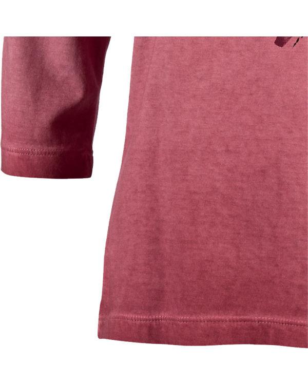 BLUE SEVEN 3/4-Arm-Shirt bordeaux