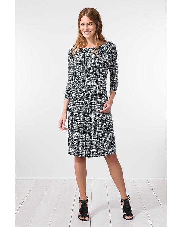 BLUE SEVEN Kleid schwarz/weiß