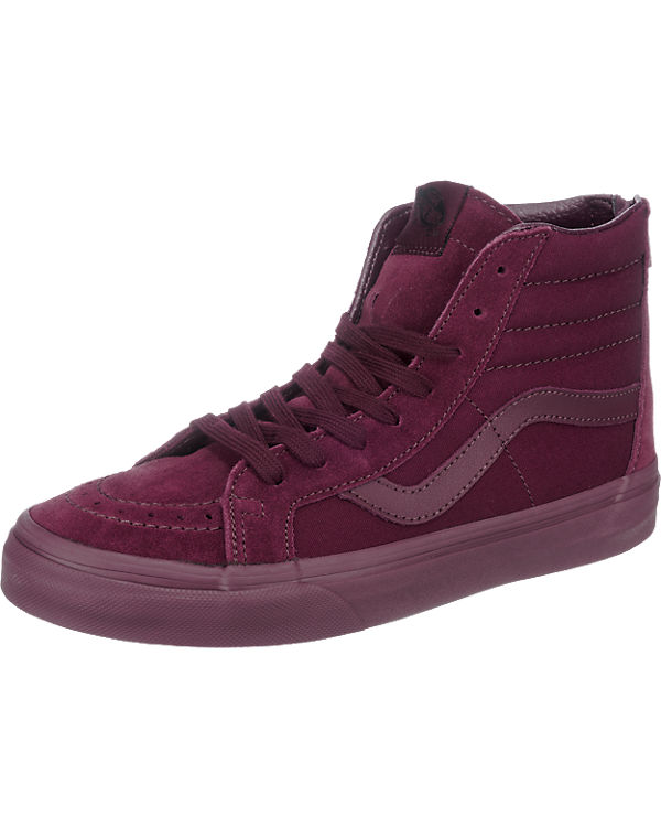 VANS U SK8-Hi Reissue Zip Sneakers bordeaux