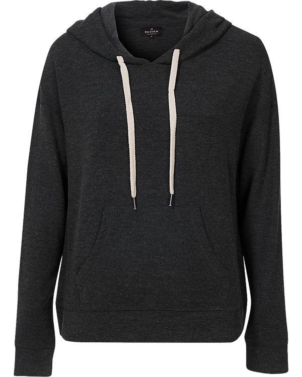 REVIEW Sweatshirt anthrazit
