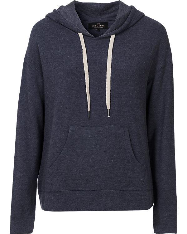 REVIEW Sweatshirt dunkelblau