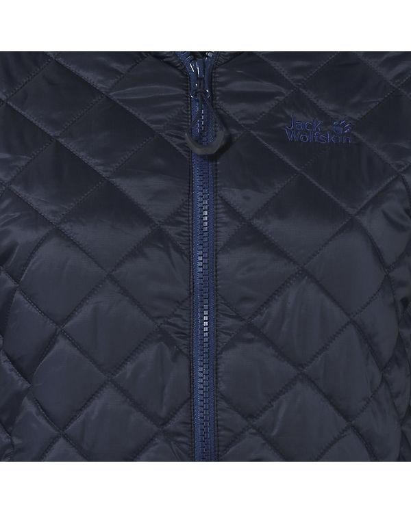Jack Wolfskin Steppjacke Icy Tundra dunkelblau