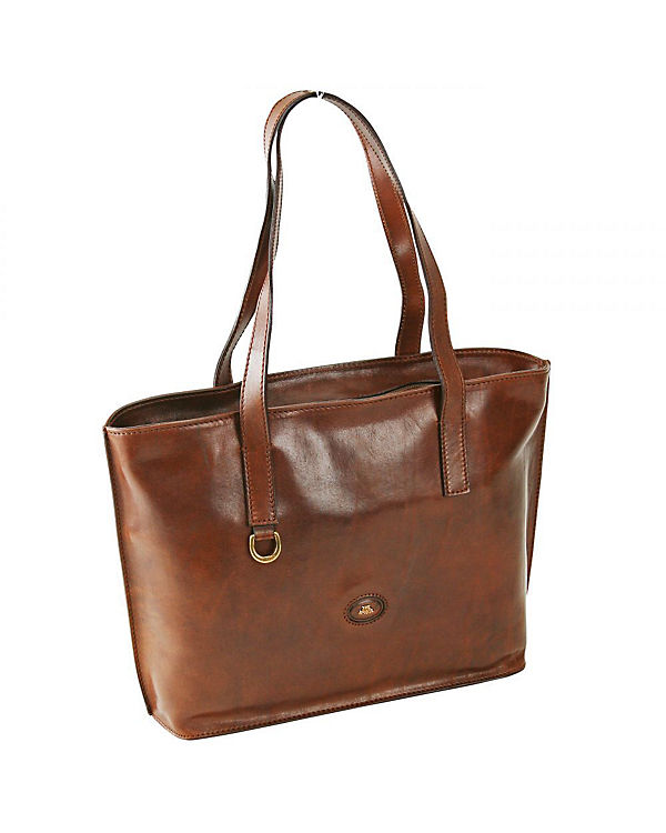 The Bridge Story Donna Export Shopper Umhängetasche Leder 37 cm