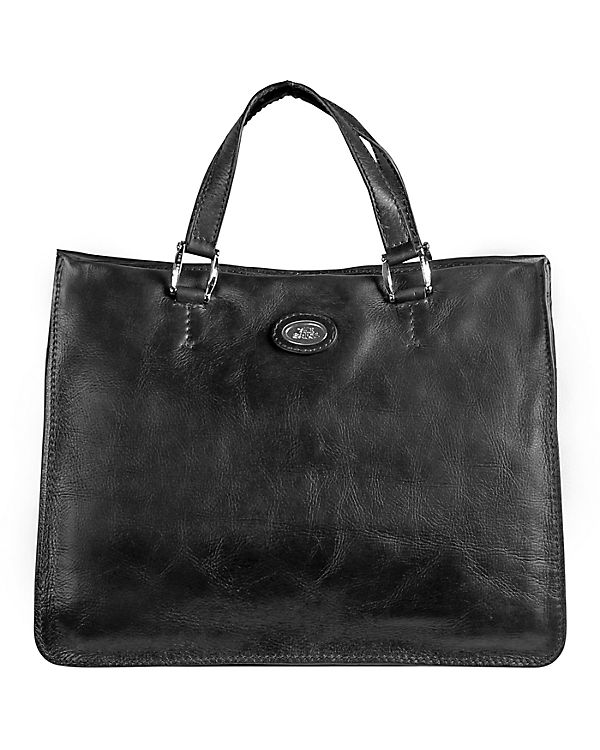 The Bridge Saddlery Donna Henkeltasche Handtasche Leder 37 cm