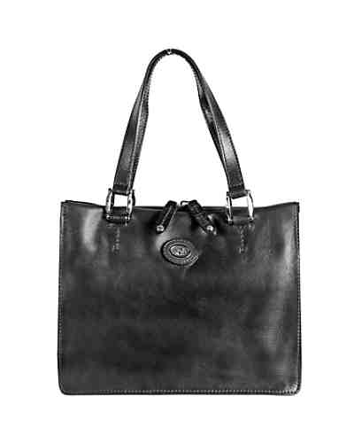 The Bridge Saddlery Donna Henkeltasche Handtasche Leder 30 cm