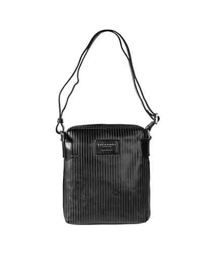 The Bridge Heritage Luxe Uomo Umhängetasche Leder 22 cm Tabletfach