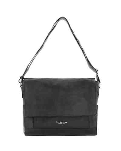 The Bridge Artisan Uomo Umhängetasche Messenger Leder 36 cm Laptopfach