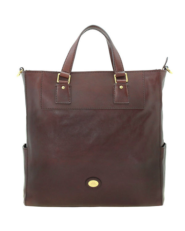 The Bridge Artisan Uomo Shopper Tasche Leder 37 cm Laptopfach