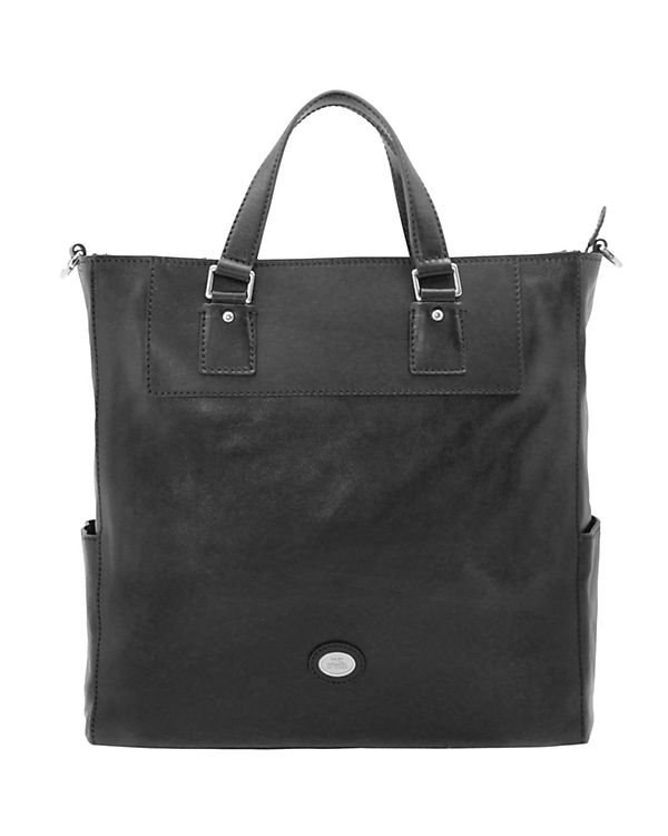 The Bridge The Bridge Artisan Uomo Shopper Tasche Leder 37 cm Laptopfach schwarz
