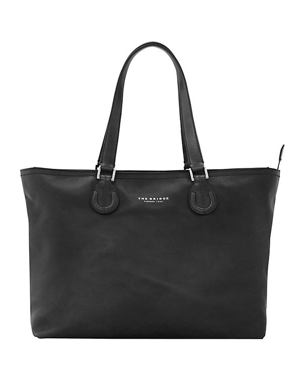 The Bridge Park Shopper Tasche Leder 40 cm