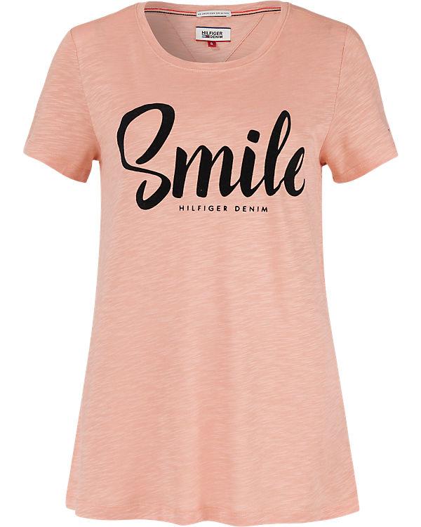 HILFIGER DENIM T-Shirt rosa