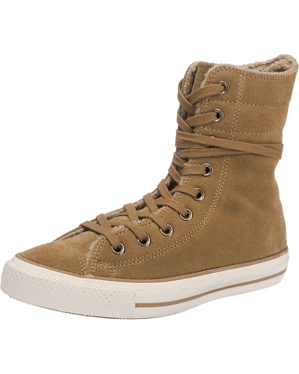 CONVERSE Chuck Taylor All Star High-Rise Sneakers braun