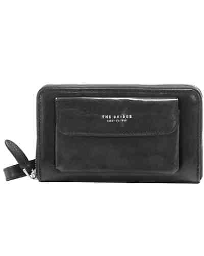 The Bridge Jade Clutch Tasche Leder 19 cm