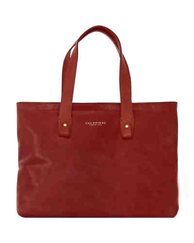 The Bridge Sfoderata Luxe Donna Shopper Leder 44 cm