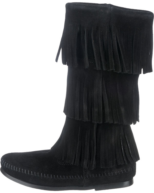 Minnetonka Stiefel schwarz