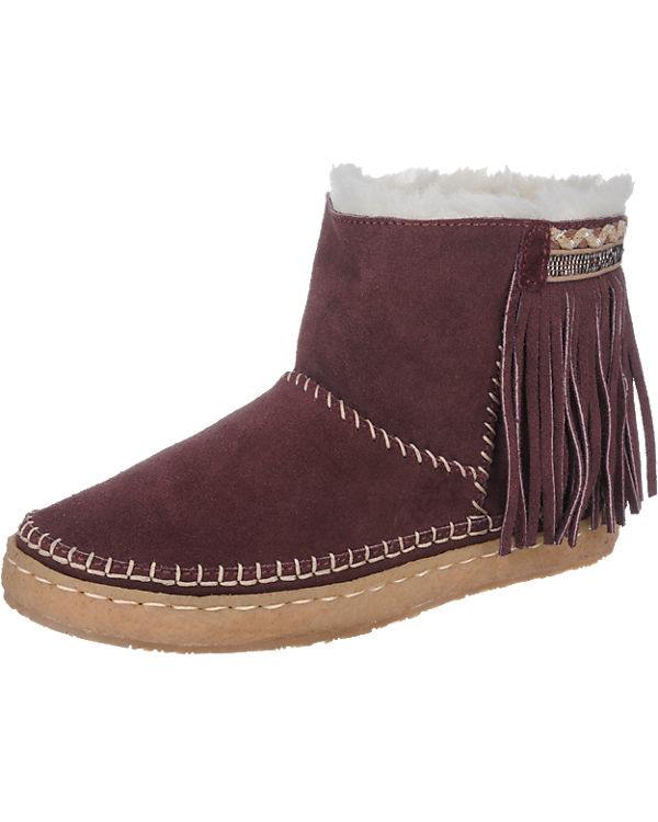 Laidback London Nyali Stiefeletten bordeaux