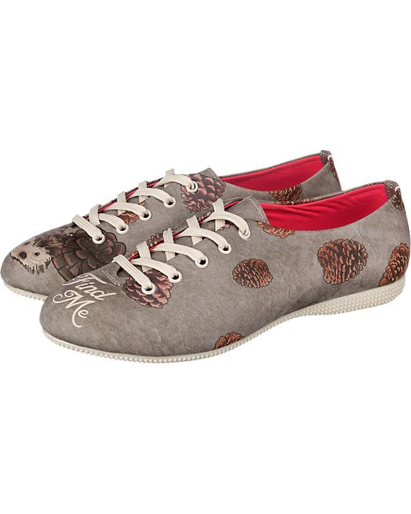 Dogo Shoes find me Halbschuhe grau-kombi