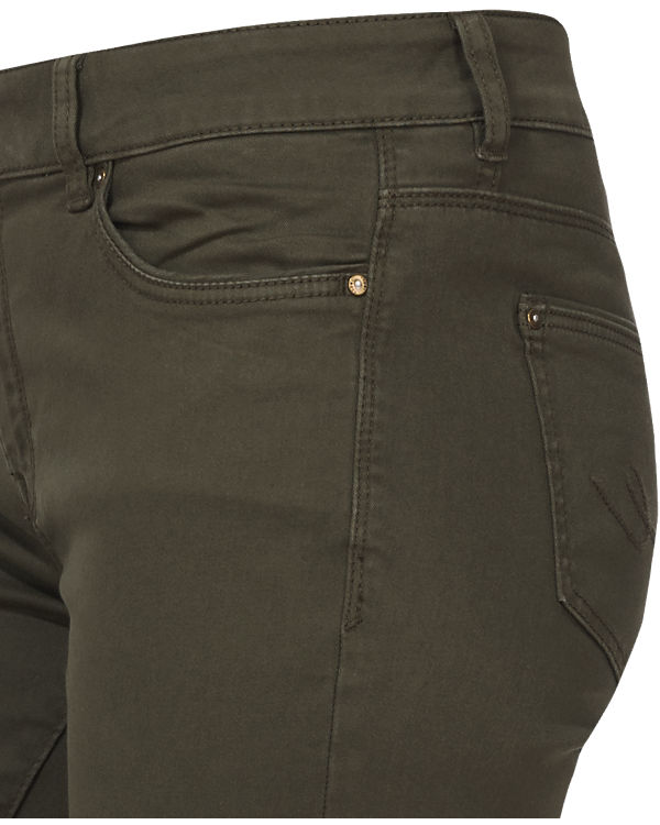 edc by ESPRIT Hose Straight Low Rise khaki