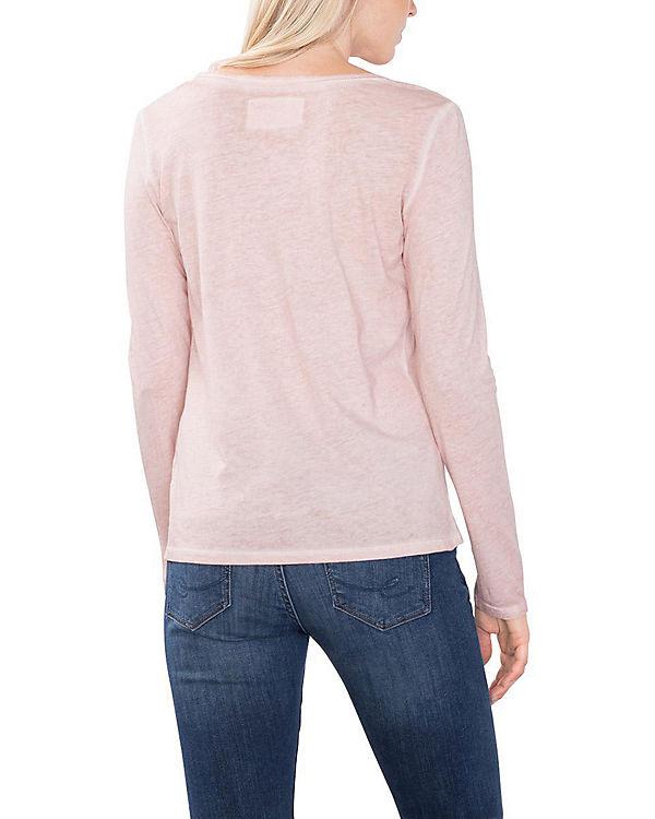 edc by ESPRIT Blusenshirt rosa