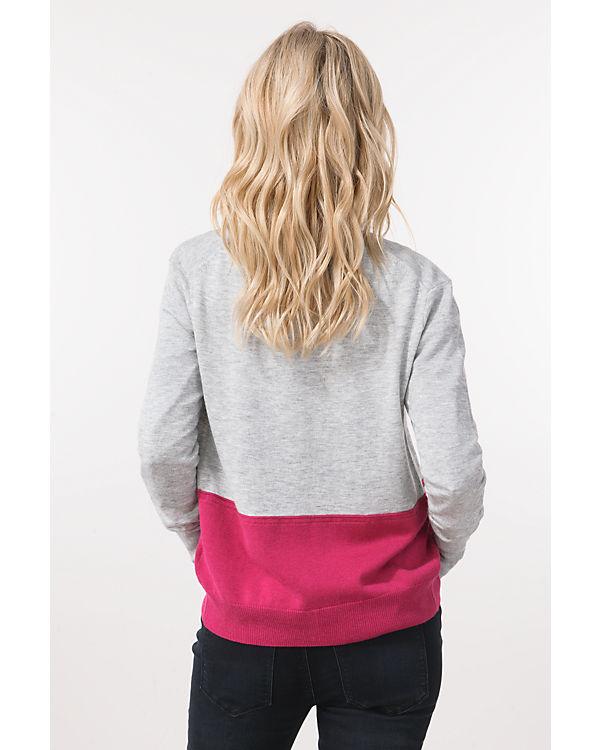 Mexx Strickjacke pink/weiß