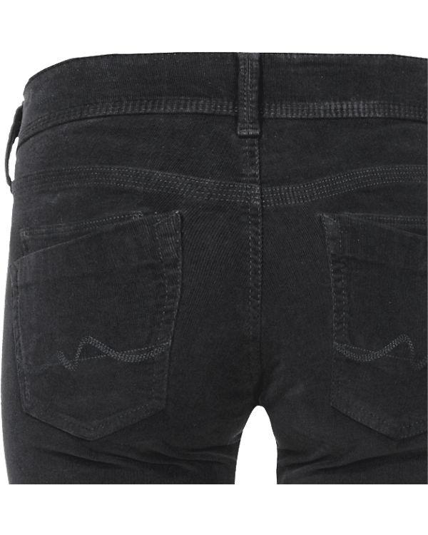 Pepe Jeans Cordhose Saturn Straight dunkelblau