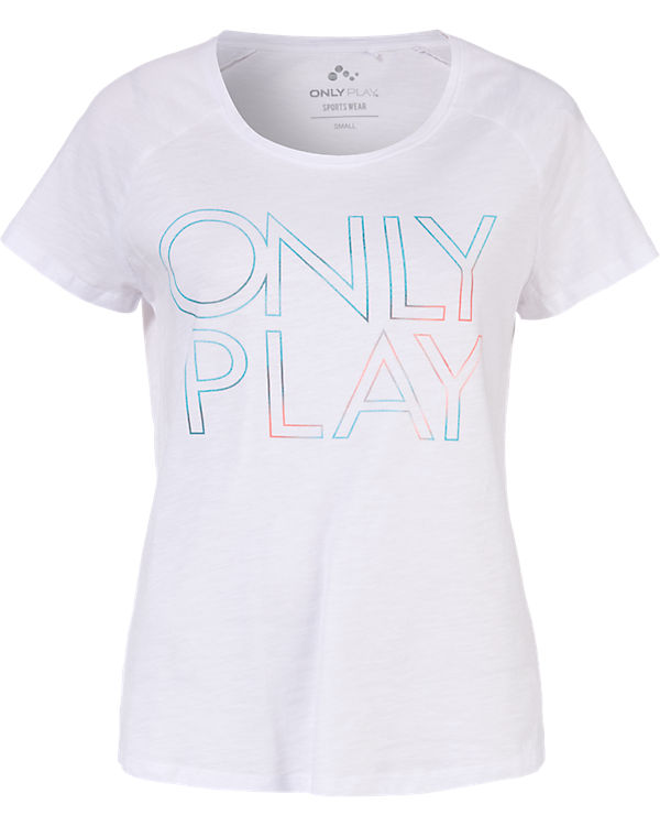 Only Play T-Shirt weiß