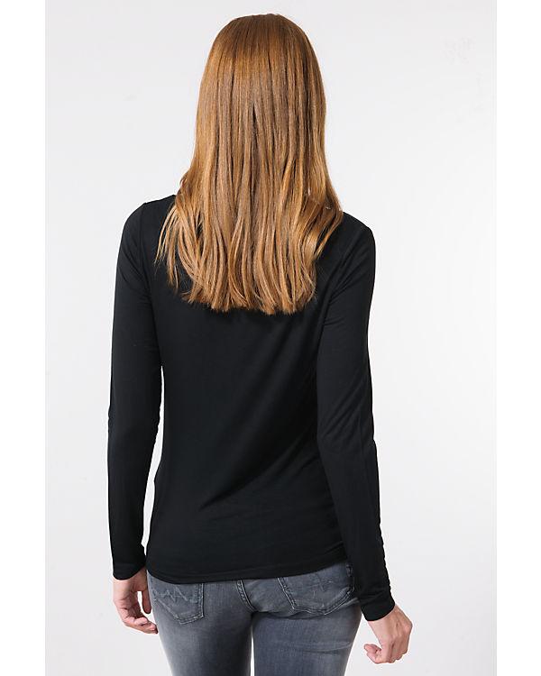 ONLY Langarmshirt schwarz