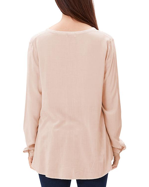 TRIANGLE Bluse rosa
