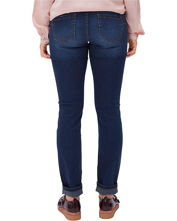 TRIANGLE Jeans Regular Fit blue denim