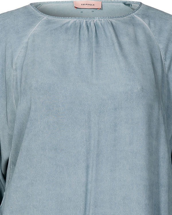 TRIANGLE Bluse blau