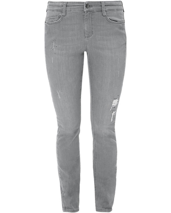 TRIANGLE Jeans Regular Fit grey denim