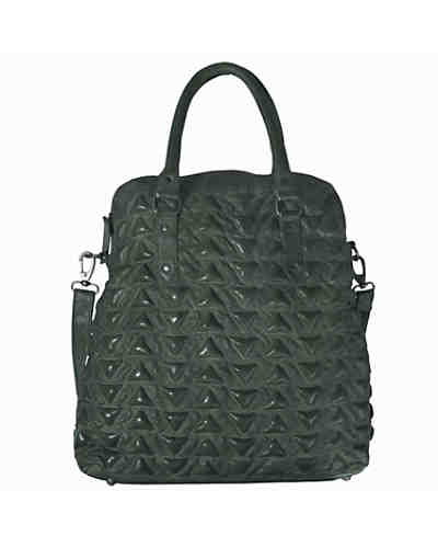 Billy the Kid Marokko Naima Triangle Shopper Tasche Leder 40 cm